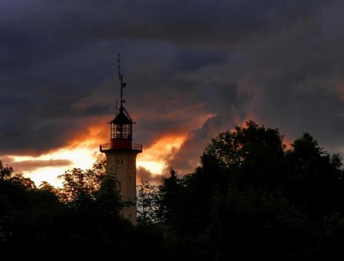 Latarnia ...a może latarenka #LatarniaMorska #lighthouse