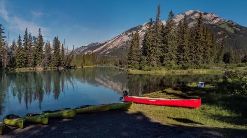Rzeka Bow -Banff Kanada