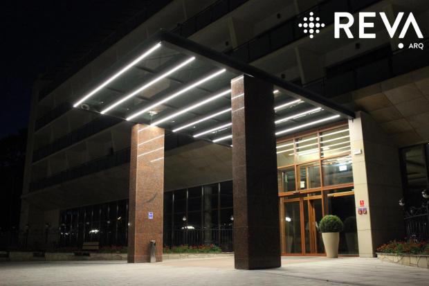 Uzdrowisko Wieniec Zdrój #architektura #iluminacje #kościoły #LED #oprawy #oświetlenie