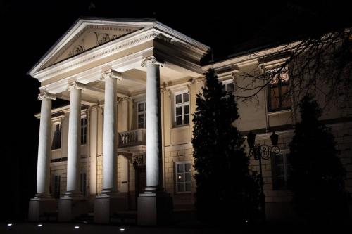 Pałac Biskupów Włocławek #architektura #iluminacje #kościoły #LED #oprawy #oświetlenie