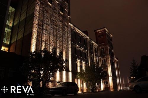 Hotel Młyn Włocławek #architektura #iluminacje #kościoły #LED #oprawy #oświetlenie