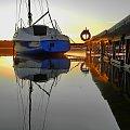 Jeszcze lato ale... pachnie jesienią #żaglówka #jacht #pomost #molo #jezioro #Wdzydze
