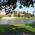 Wawel widziany z drugiej strony Wisły #Kraków #Wawel #Wisła