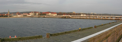 Jak długie molo i szeroki Sopot... #Sopot #DolnySopot #kurort #molo