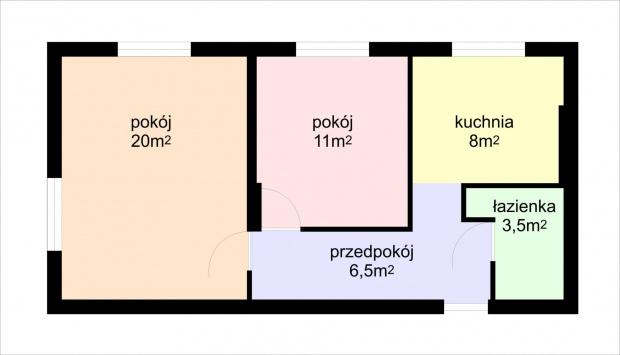 rzut mieszkania #mieszkanie #olsztyn #sprzedam #zatorze