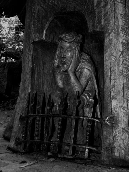 Chrystus Frasobliwy - Pęksowy Brzyzek,Zakopane #PęksowyBrzyzek #Zakopane