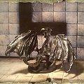 Czarny Smok #Black #Czarny #Dragon #figurki #handmade #homemade #miniatures #Smok