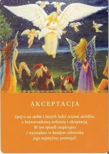 Znalezione obrazy dla zapytania akceptacja  karta przesłania aniołów