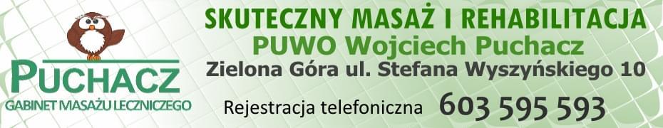 PUCHACZ Gabinet masażu leczniczego. Skuteczny masaż i rehabilitacja. Wojciech Puchacz