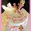 Uroczy tort z Myszką Minnie #MinnieMouse #MyszkaMinnie #tort #TortyArtystyczne #TortyKraków #TortyWalentynki