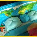 Tort na wieczór panieński #kowboj #łóżko #mapa #świat #tort #TortyKraków #TortyWalentynki #WieczórPanieński