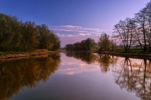 Świt nad rzeką. #d3100 #Gwda #Nikon #Piła #Rzeka #Świt #Wielkopolska